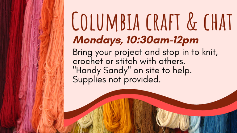 Columbia Craft & Chat website.png